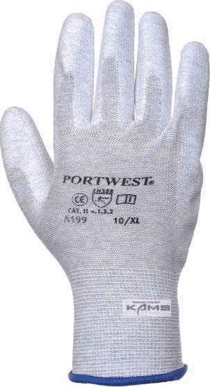 Portwest rękawice antystatyczne pokrywane PU rozmiar L (PP0563) 1