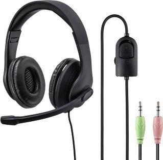 Słuchawki z mikrofonem Hama HS-P200 (001399230000) 1