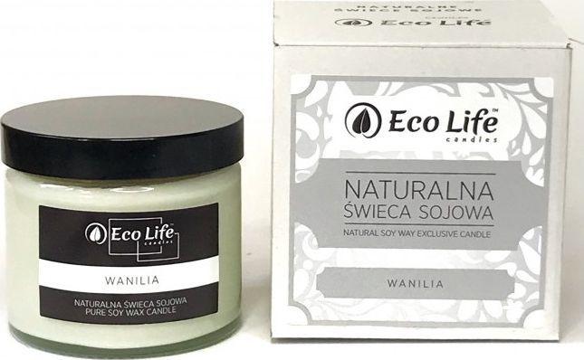 Eco Life Eco Life, Świeca sojowa Wanilia 1