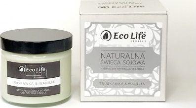 Eco Life Eco Life, Świeca sojowa Truskawka i Wanilia 1