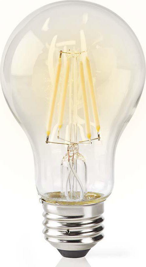Nedis Nedis Wi-Fi Smart LED Filament Bulb   E27   A60   5 W   500 lm   Clear 1