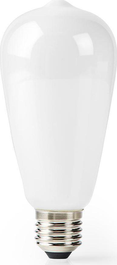 Nedis Nedis Wi-Fi Smart LED Bulb   E27   ST64   5 W   500 lm   White 1
