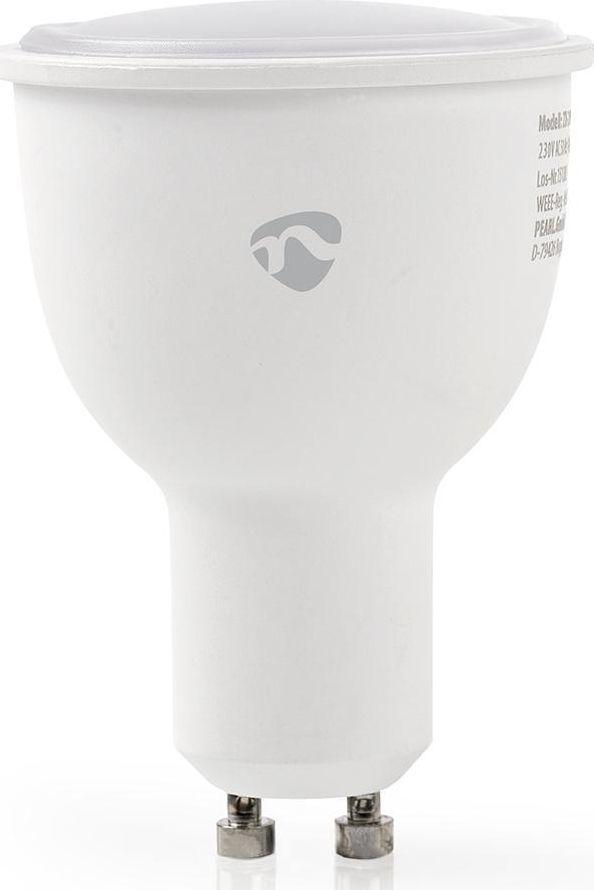 Nedis Nedis WiFi Smart LED Bulb   Warm to Cool White   GU10 1