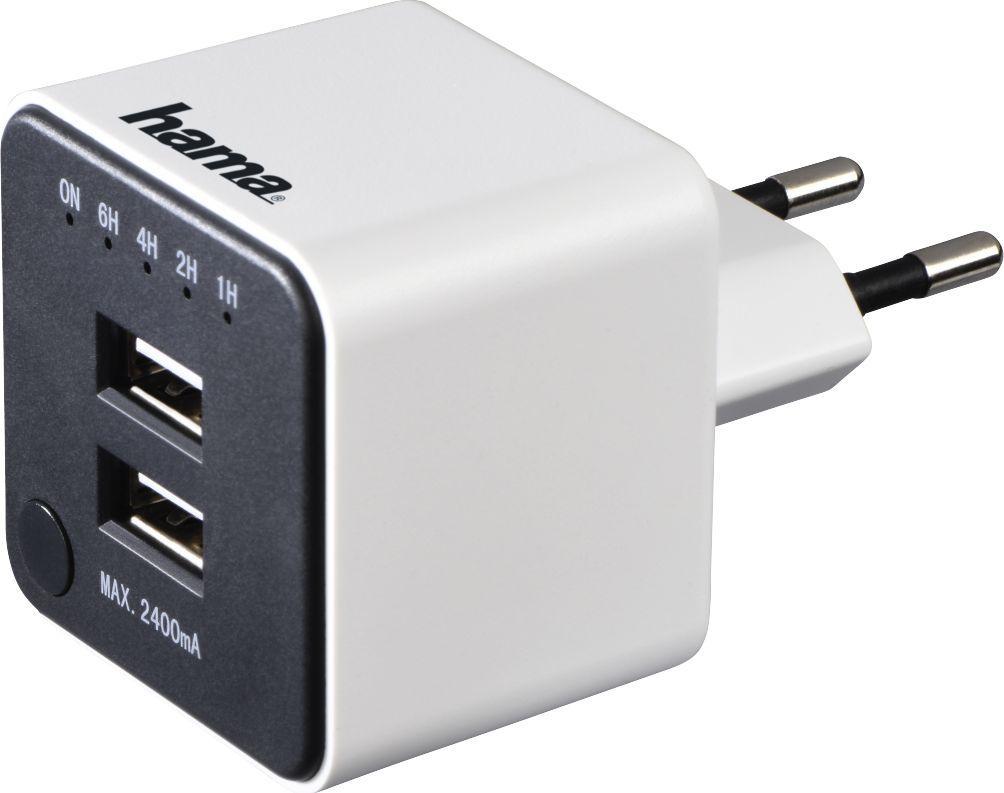 Ładowarka Hama USB z funkcją odliczania 1