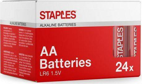 Staples Bateria AA / R6 24szt. 1