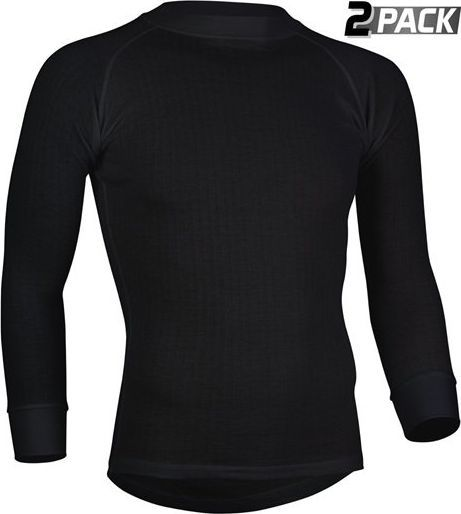 Avento MEN LONG SLEEVE THERMAL SHIRT 2 PACK BLACK ID produktu: 6622160