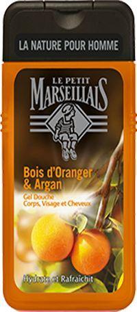 Le Petit Marseillais Żel pod prysznic Men Pomarańcza&Olejek Arganowy 250ml 1