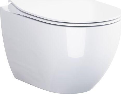 Miska WC Cersanit Urban Harmony Clean-on + deska wolnoopadająca łatwe wypinanie (K109-067) 1