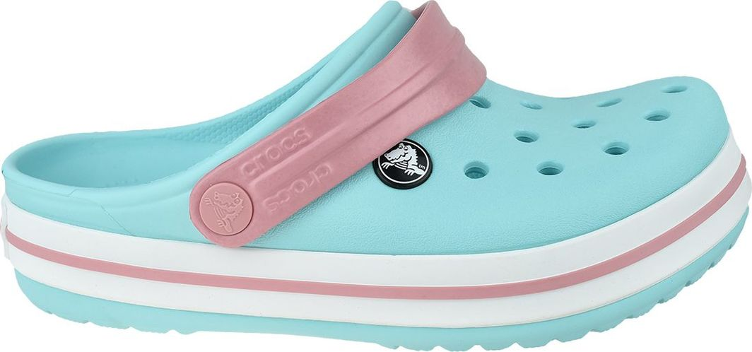 Crocs Klapki dziecięce Crocband Clog błękitne r. 27/28 (204537-4S3) 1