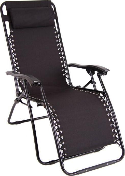 Relax Patio Fotel Relax grawitacyjny - czarny 1