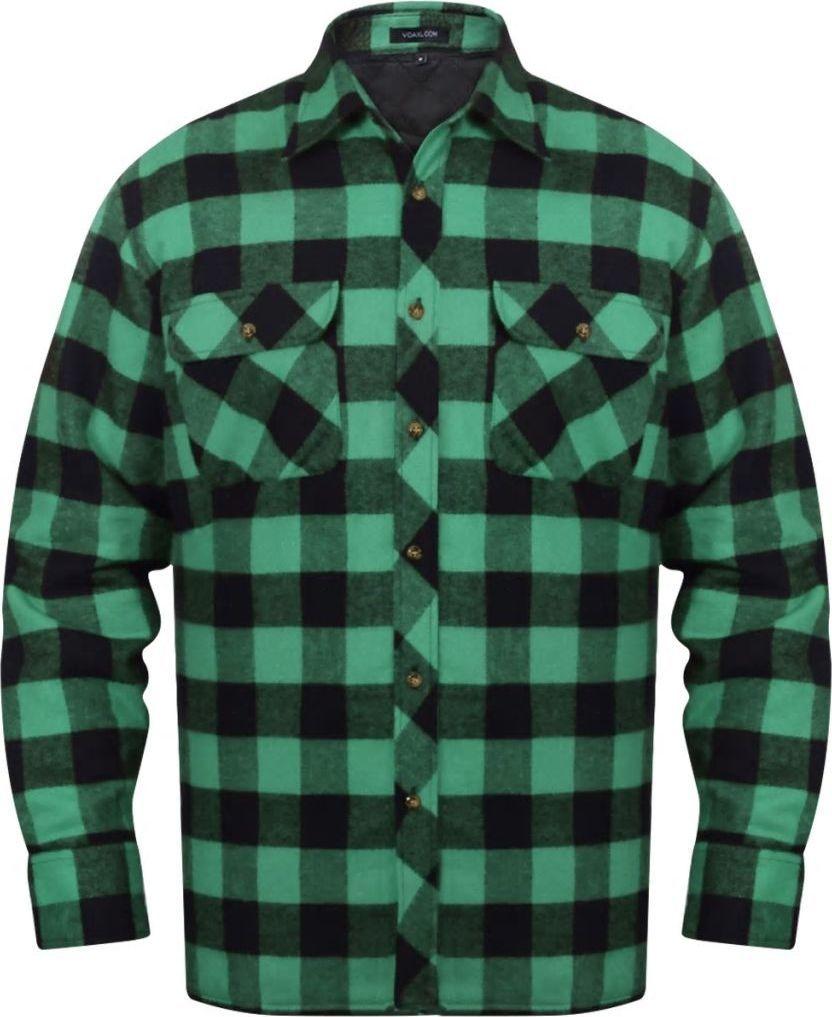 koszule flanelowe w krate meskie