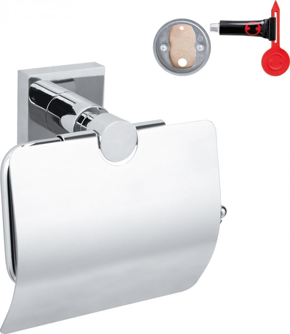 Tesa Uchwyt na papier toaletowy przyssawka chrom (40247-00000-00) 1