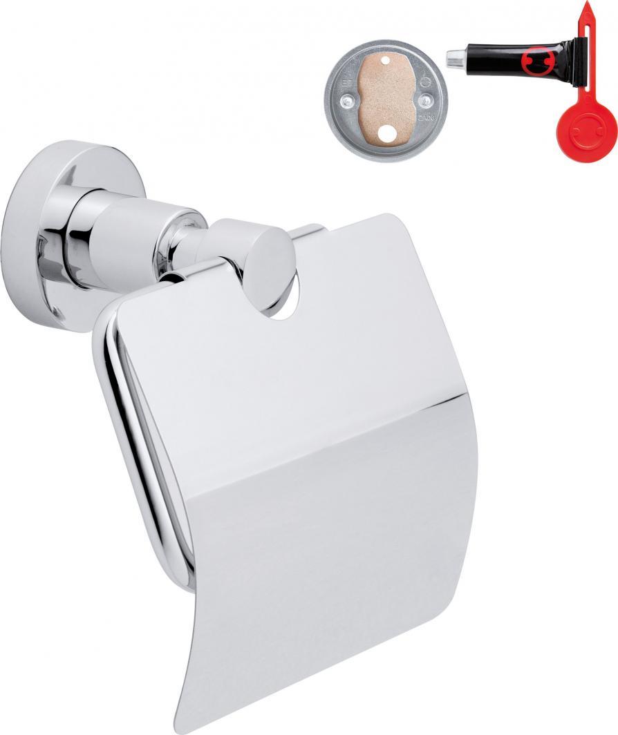 Tesa Uchwyt na papier toaletowy przyssawka chrom (40273-00000-00) 1