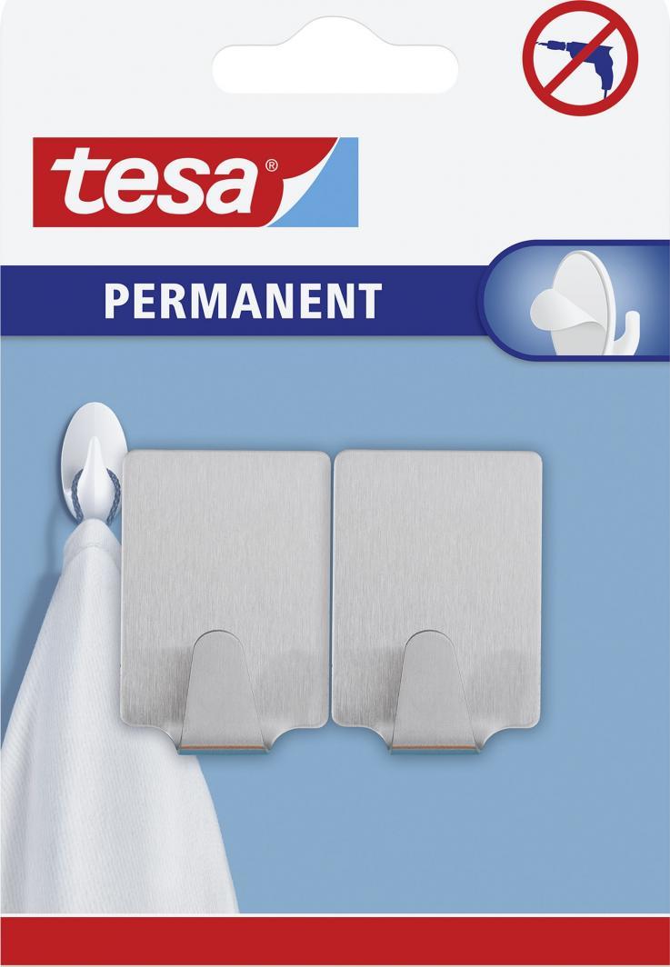 Tesa Haczyki permanentne 46x30mm metalowe (66613-00000-00) 1