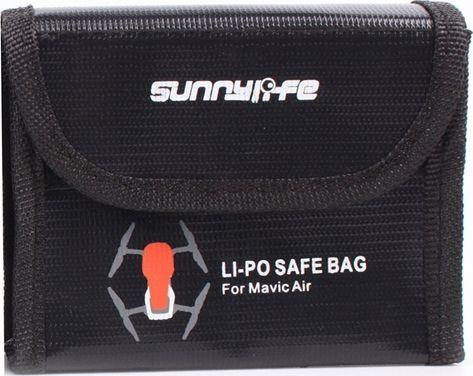 SunnyLife Futerał / Etui na 3x Bateria do DJI MAVIC AIR / Ognioodporny 1