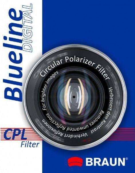 Filtr Braun Blueline CPL 67mm (bluecpl67) 1