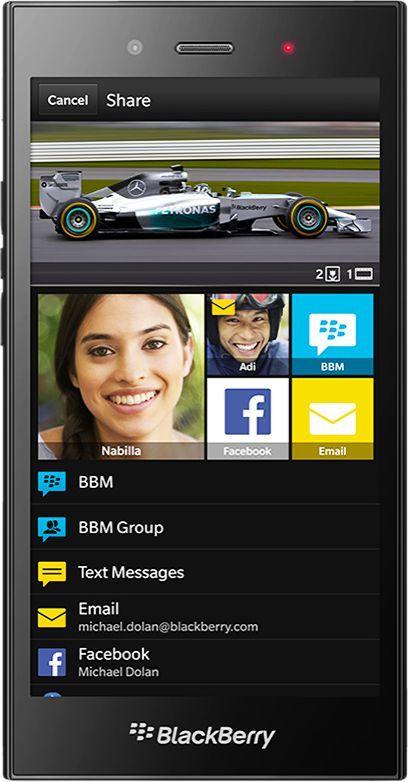 Smartfon Blackberry 8 GB Czarny  1