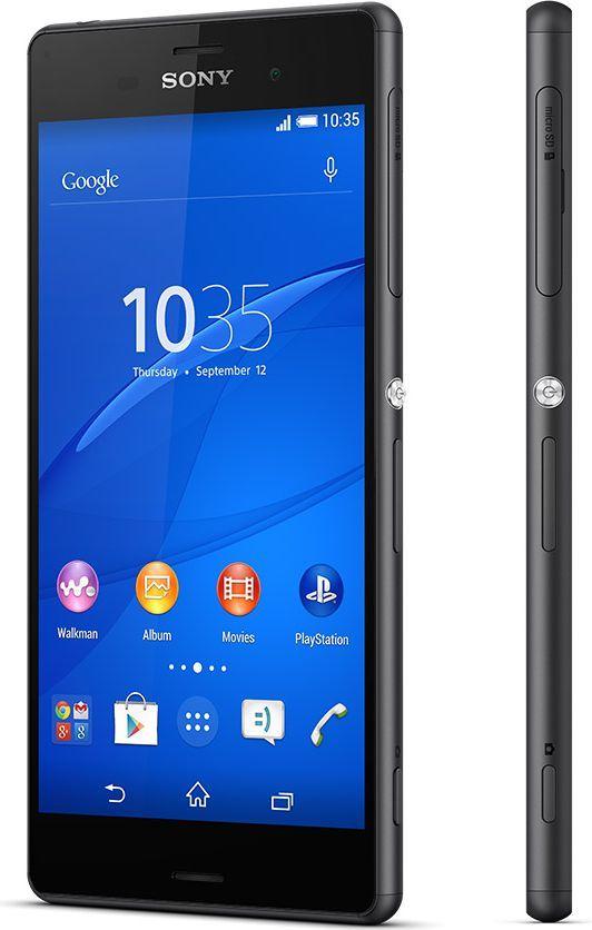 Smartfon Sony Xperia Z3 3/16GB Dual SIM Czarny  (Xperia Z3 Black) 1