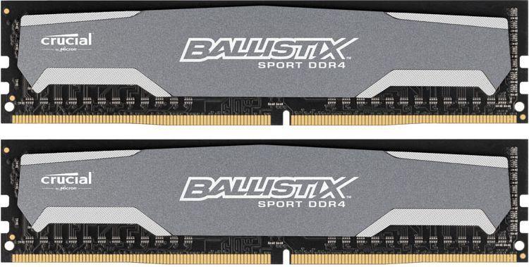 Pamięć Ballistix DDR4, 8 GB, 2400MHz, CL16 (BLS2C4G4D240FSA) 1