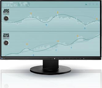 Monitor Eizo FlexScan EV2450-BK 1