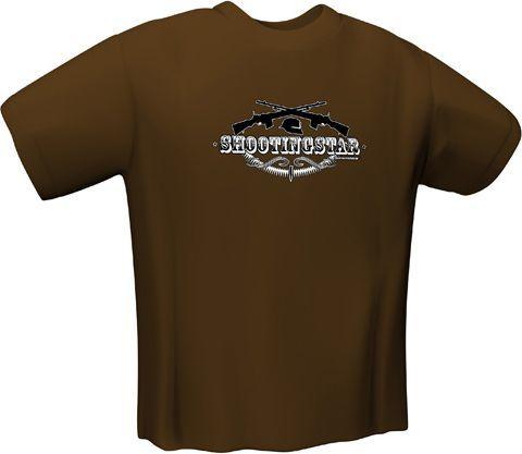 GamersWear SHOOTINGSTAR T-Shirt Brown (S) (5127-S) 1