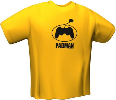 GamersWear Koszulka PADMAN T-Shirt Yellow (S) (5097-S) 1