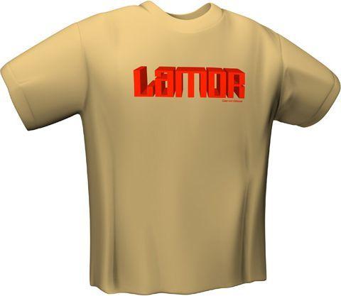 GamersWear Koszulka LAMOR T-Shirt Sand (S) (5027-S) 1