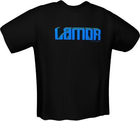 GamersWear Koszulka LAMOR T-Shirt Black (S) (5055-S) 1