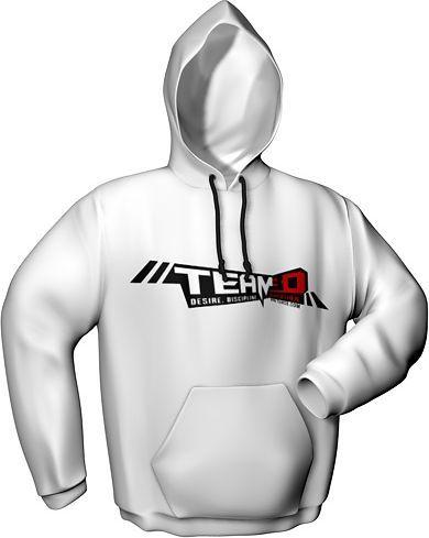 GamersWear Bluza z kapturem, TEAM3D White (L) (6080-L) 1