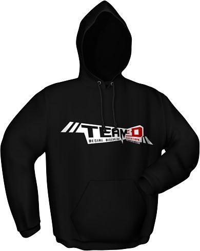 GamersWear Bluza z kapturem czarna L (6081-L) 1