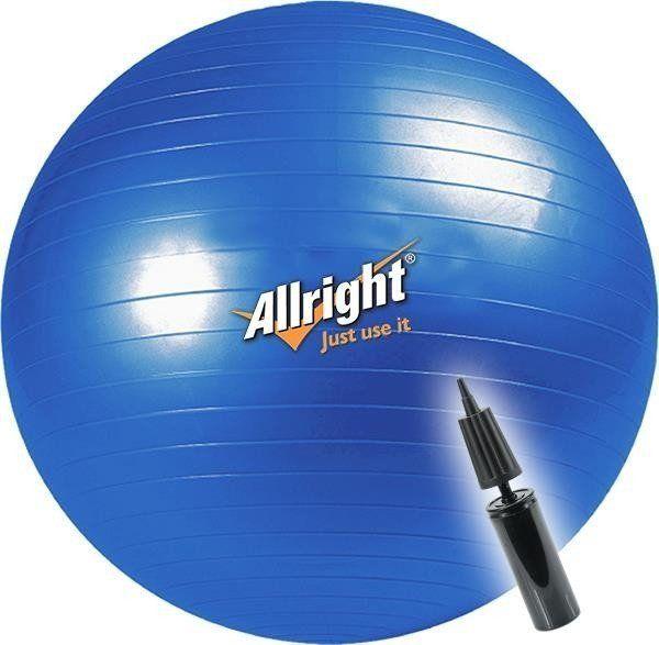 Allright Piłka do ćwiczeń 65cm niebieska 1