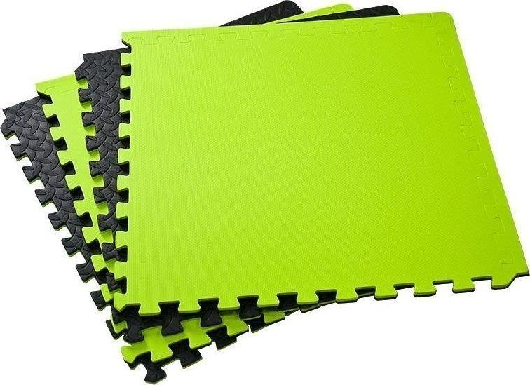 Allright Mata puzzle czarno-zielona 62x62x1.2cm  1