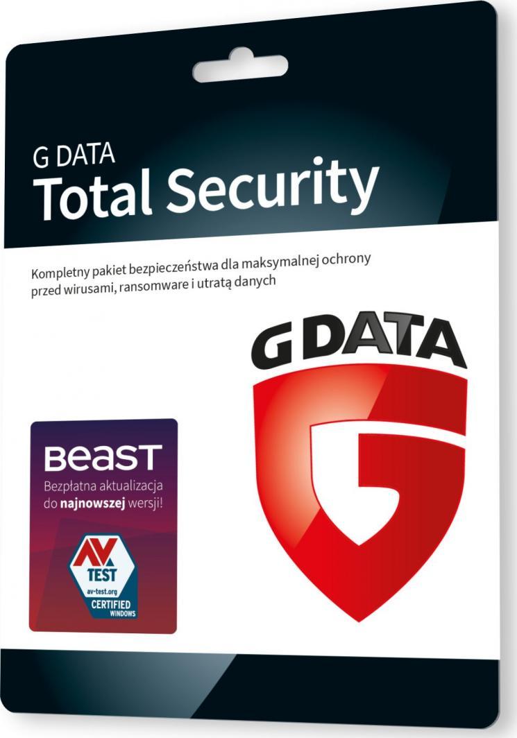Gdata Total Protection 3 urządzenia 12 miesięcy  (G82480) 1