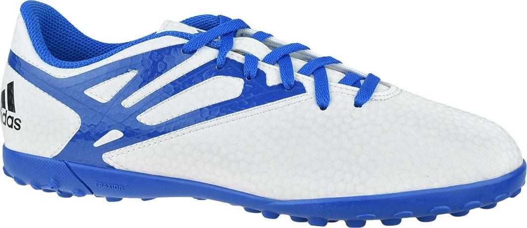 Adidas Buty piłkarskie Messi 15.4 TF J białe r. 38 (B25452) 1
