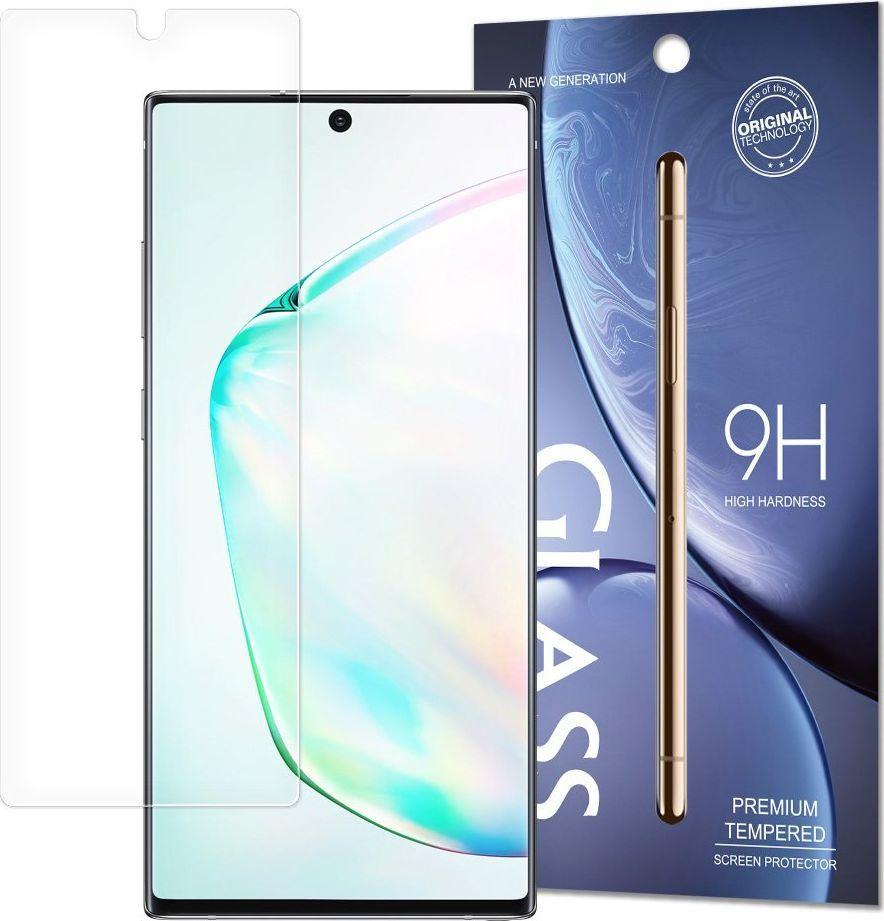 Hurtel Tempered Glass SCO (Screen Center Only) szkło hartowane 9H Samsung Note 10 Plus (opakowanie – koperta) uniwersalny 1