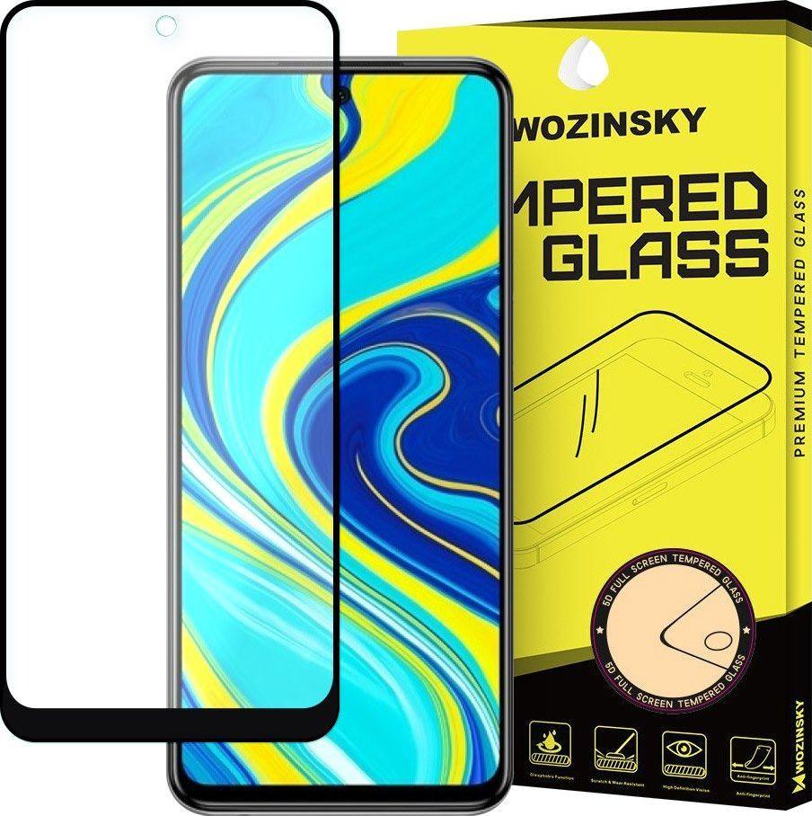 Wozinsky Wozinsky super wytrzymałe szkło hartowane Full Glue na cały ekran z ramką Case Friendly Xiaomi Redmi Note 9S czarny uniwersalny 1