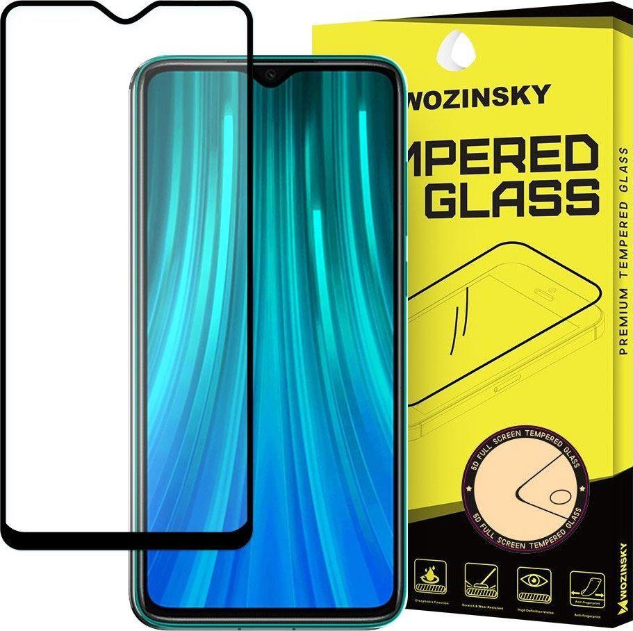 Wozinsky Wozinsky super wytrzymałe szkło hartowane Full Glue na cały ekran z ramką Case Friendly Xiaomi Redmi 8 czarny uniwersalny 1