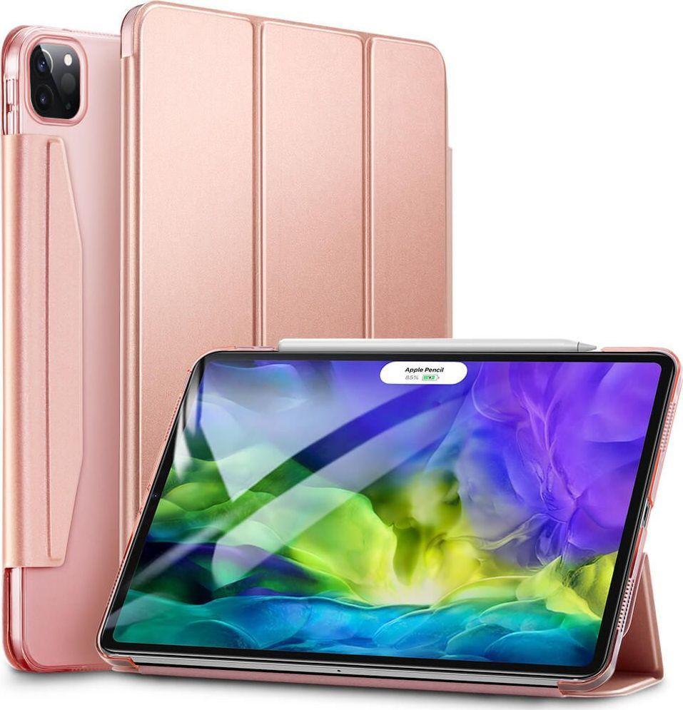 Etui do tabletu ESR Etui obudowa ESR Yippee do Apple iPad Pro 11 2020 Rose Gold uniwersalny 1