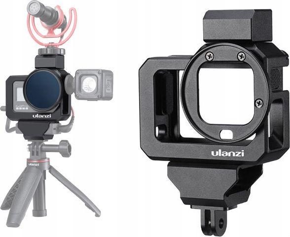 Ulanzi Klatka / Ramka Aluminiowa + 3x Adapter do Gopro 8 Black 1