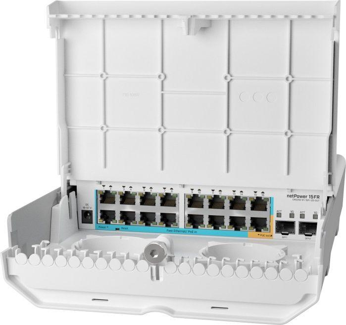 Switch MikroTik CRS318-1Fi-15Fr-2S-OUT 1