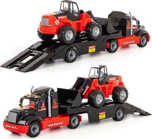 Wader Mammoet samochód holownik + traktor z ładowarką 1