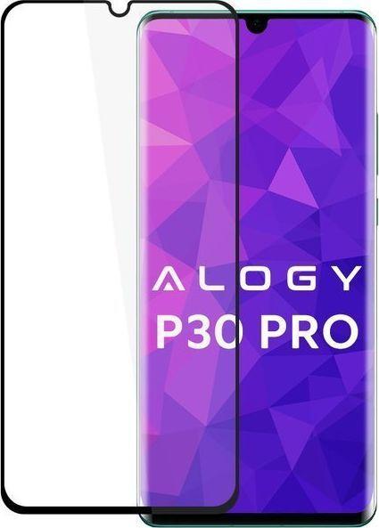 Alogy Szkło na telefon Alogy Full Glue case friendly do Samsung Galaxy A71 Czarne uniwersalny 1