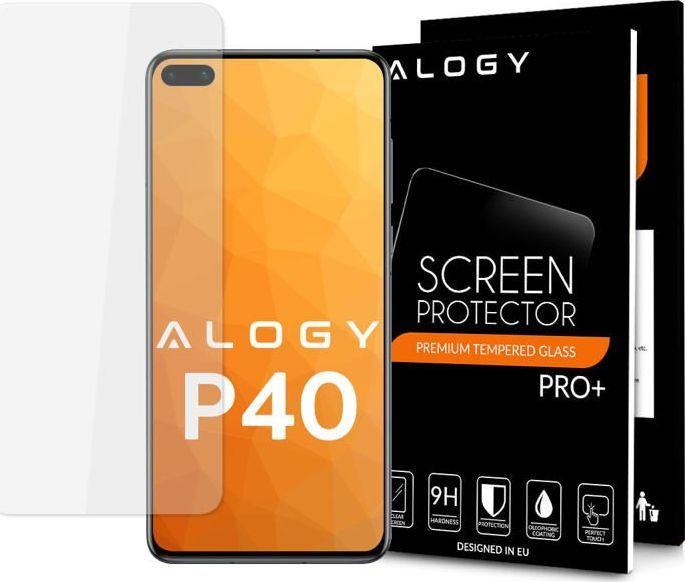 Alogy Szkło na telefon hartowane Alogy do Huawei P40 Lite / P40 Lite E uniwersalny 1