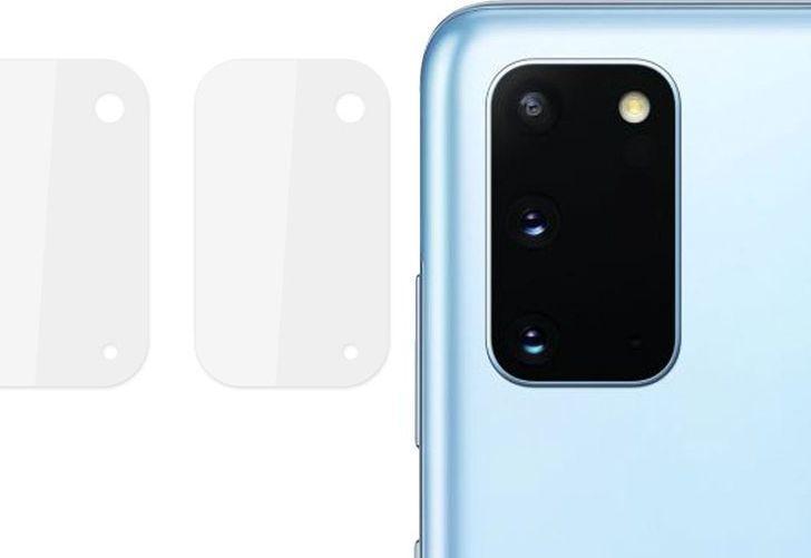 Alogy Szkło x2 na tył obiektyw hartowane Alogy do Samsung Galaxy S20 uniwersalny 1