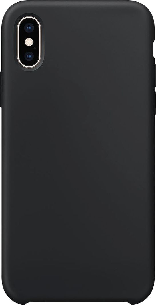 Xqisit XQISIT Silicone for iPhone XS Max black 1