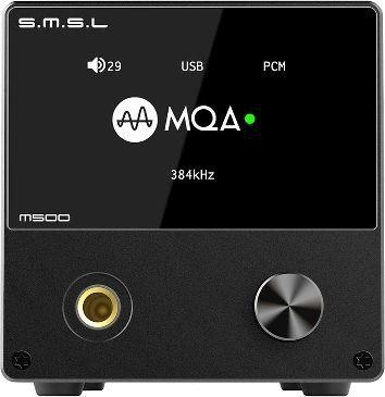 Wzmacniacz słuchawkowy SMSL SMSL M500 - czarny 1
