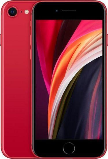 Smartfon Apple iPhone SE 2020 128 GB Dual SIM Czerwony  (MXD22PM/A) 1