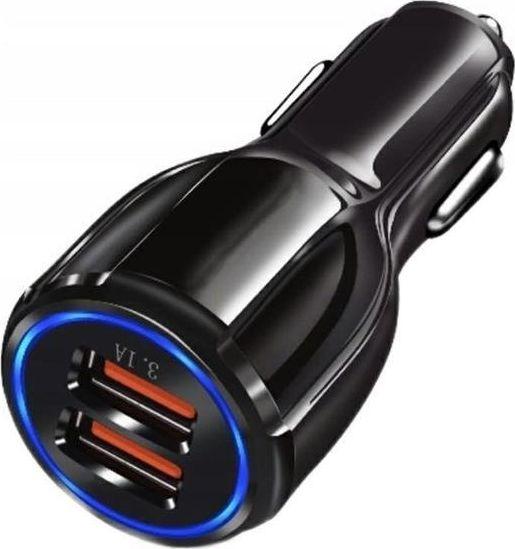 Ładowarka GeTech PLS34D ŁADOWARKA SAMOCHODOWA 2 X USB 3.0 uniwersalny 1
