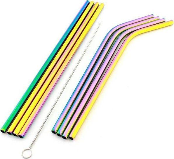 Home Appliances słomki stalowe wielorazowego użytku 10 EL uniwersalny (AG371B ) 1