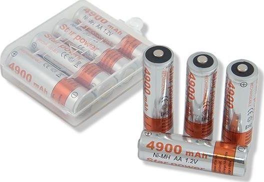 Akumulator AA / R6 4900mAh 4szt. 1